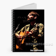 Ray La Montagne Custom Personalized Spiral Notebook Cover