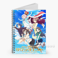Sakura Quest Custom Personalized Spiral Notebook Cover