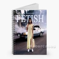 Selena Gomez Fetish Custom Personalized Spiral Notebook Cover