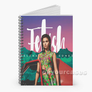 Selena Gomez Fetish ft Gucci Mane Custom Personalized Spiral Notebook Cover
