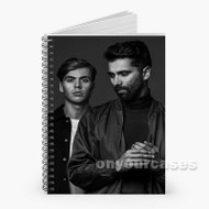 Yellow Claw Custom Personalized Spiral Notebook Cover
