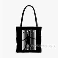 CR7 Cristiano Ronaldo Custom Personalized Tote Bag Polyester with Small Medium Large Size
