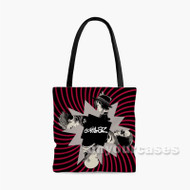 Gorillaz Custom Personalized Tote Bag Polyester with Small Medium Large Size