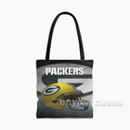Green Bay Packers NFL Custom Personalized Tote Bag Polyester with Small Medium Large Size