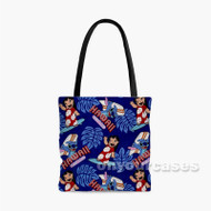 Lilo and Stitch Disney Custom Personalized Tote Bag Polyester with Small Medium Large Size