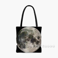 Moon Custom Personalized Tote Bag Polyester with Small Medium Large Size