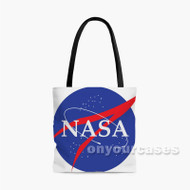 NASA Custom Personalized Tote Bag Polyester with Small Medium Large Size