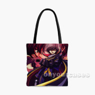 Code Geass Lelouch of the Rebellion Custom Personalized Tote Bag Polyester with Small Medium Large Size