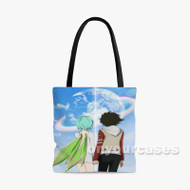 Eureka Seven Custom Personalized Tote Bag Polyester with Small Medium Large Size