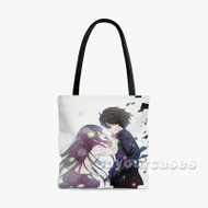 Hyouka Custom Personalized Tote Bag Polyester with Small Medium Large Size