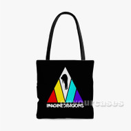 Imagine Dragons Triangle Custom Personalized Tote Bag Polyester with Small Medium Large Size