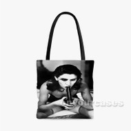 PJ Harvey 2 Custom Personalized Tote Bag Polyester with Small Medium Large Size