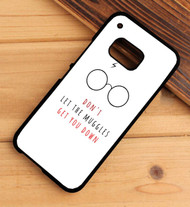 Don't Let The Muggles Get You Down harry potter HTC One X M7 M8 M9 Case
