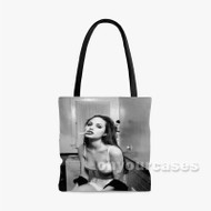 Angelina Jolie Custom Personalized Tote Bag Polyester with Small Medium Large Size