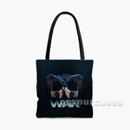 Captain America Infinity War Custom Personalized Tote Bag Polyester with Small Medium Large Size
