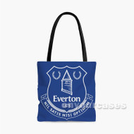 Everton FC Custom Personalized Tote Bag Polyester with Small Medium Large Size