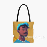 Isaiah Rashad Lil Sunny Tour Custom Personalized Tote Bag Polyester with Small Medium Large Size