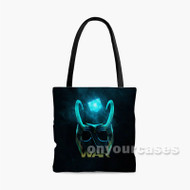 Loki Infinity War Custom Personalized Tote Bag Polyester with Small Medium Large Size