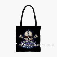 Son uva Digger Monster Trucks Custom Personalized Tote Bag Polyester with Small Medium Large Size