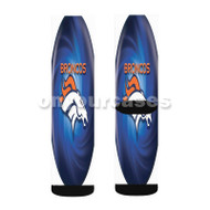denver broncos Custom Sublimation Printed Socks Polyester Acrylic Nylon Spandex with Small Medium Large Size