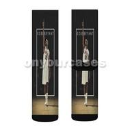 Kobe Bryant Custom Sublimation Printed Socks Polyester Acrylic Nylon Spandex with Small Medium Large Size
