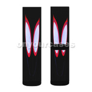 Spider Man Spider Verse Custom Sublimation Printed Socks Polyester Acrylic Nylon Spandex with Small Medium Large Size
