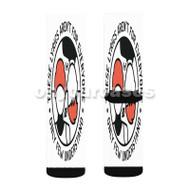 twenty one pilots 2 Custom Sublimation Printed Socks Polyester Acrylic Nylon Spandex with Small Medium Large Size