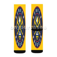 Denver Nuggets NBA Custom Sublimation Printed Socks Polyester Acrylic Nylon Spandex with Small Medium Large Size