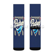 San Diego Padres MLB Custom Sublimation Printed Socks Polyester Acrylic Nylon Spandex with Small Medium Large Size