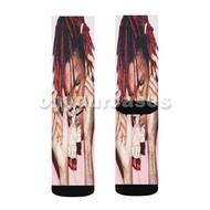 Trippie Redd Custom Sublimation Printed Socks Polyester Acrylic Nylon Spandex with Small Medium Large Size