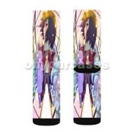 Boku dake ga Inai Machi Custom Sublimation Printed Socks Polyester Acrylic Nylon Spandex with Small Medium Large Size