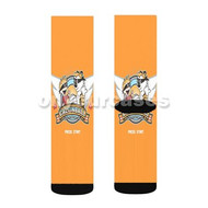 Calvin and Hobbes Custom Sublimation Printed Socks Polyester Acrylic Nylon Spandex with Small Medium Large Size