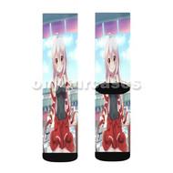 Chiya Urara Meirochou Custom Sublimation Printed Socks Polyester Acrylic Nylon Spandex with Small Medium Large Size