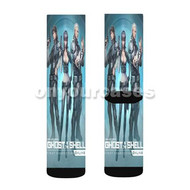 Ghost in The Shell Custom Sublimation Printed Socks Polyester Acrylic Nylon Spandex with Small Medium Large Size