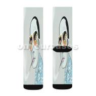 Hunter S Thompson Custom Sublimation Printed Socks Polyester Acrylic Nylon Spandex with Small Medium Large Size