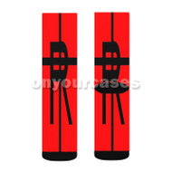 Kill la Kill 4 Custom Sublimation Printed Socks Polyester Acrylic Nylon Spandex with Small Medium Large Size