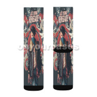 All Time Low Last Young Renegade Custom Sublimation Printed Socks Polyester Acrylic Nylon Spandex with Small Medium Large Size