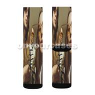 HAIM Something To Tell You Custom Sublimation Printed Socks Polyester Acrylic Nylon Spandex with Small Medium Large Size