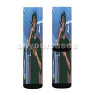 Jay Solstice Ricura Custom Sublimation Printed Socks Polyester Acrylic Nylon Spandex with Small Medium Large Size