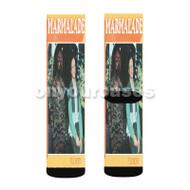Macklemore feat Lil Yachty Custom Sublimation Printed Socks Polyester Acrylic Nylon Spandex with Small Medium Large Size