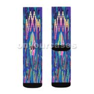 Negus MF Doom Feat Sean Price Custom Sublimation Printed Socks Polyester Acrylic Nylon Spandex with Small Medium Large Size