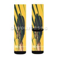 OMG Camila Cabello Feat Quavo Custom Sublimation Printed Socks Polyester Acrylic Nylon Spandex with Small Medium Large Size