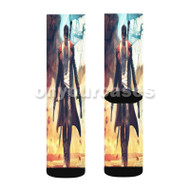 Devil May Cry 2 Custom Sublimation Printed Socks Polyester Acrylic Nylon Spandex with Small Medium Large Size