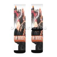 Team Fortress 2 Custom Sublimation Printed Socks Polyester Acrylic Nylon Spandex with Small Medium Large Size
