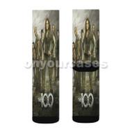 The 100 TV Show Custom Sublimation Printed Socks Polyester Acrylic Nylon Spandex with Small Medium Large Size