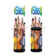 The Sims 4 2 Custom Sublimation Printed Socks Polyester Acrylic Nylon Spandex with Small Medium Large Size