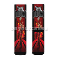 Unreal Tournament 3 Custom Sublimation Printed Socks Polyester Acrylic Nylon Spandex with Small Medium Large Size