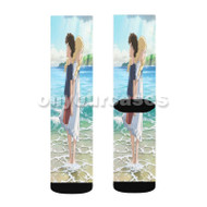 When Marnie Was There 2 Custom Sublimation Printed Socks Polyester Acrylic Nylon Spandex with Small Medium Large Size
