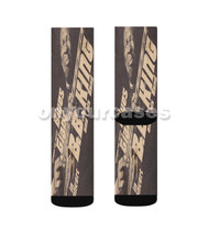 BB King Guitar Custom Sublimation Printed Socks Polyester Acrylic Nylon Spandex with Small Medium Large Size