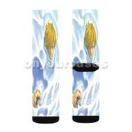 Berserk Kentaro Miura Custom Sublimation Printed Socks Polyester Acrylic Nylon Spandex with Small Medium Large Size